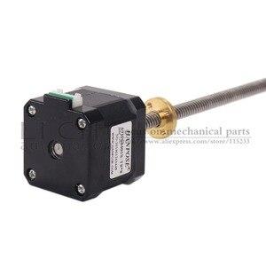 Image 5 - Motor paso a paso de tornillo Nema17 de 40mm, 17HS4401S T8 L300MM con tuerca de cobre de plomo de 2/4/8mm para motor de impresora 3D, Envío Gratis