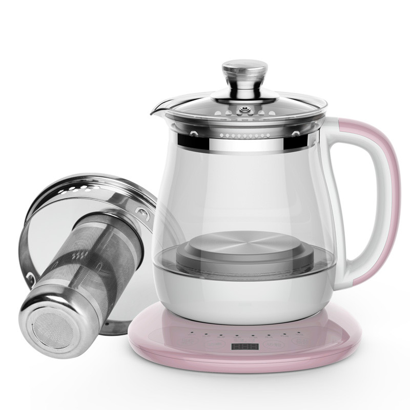 Electric kettle Boil tea health pot of multi-functional automatic thickening glass medicine black boiled tea, cooking curing pot tisanes of the multifunctional automatic thickening glass boiled tea electric cooking pot electric water ket