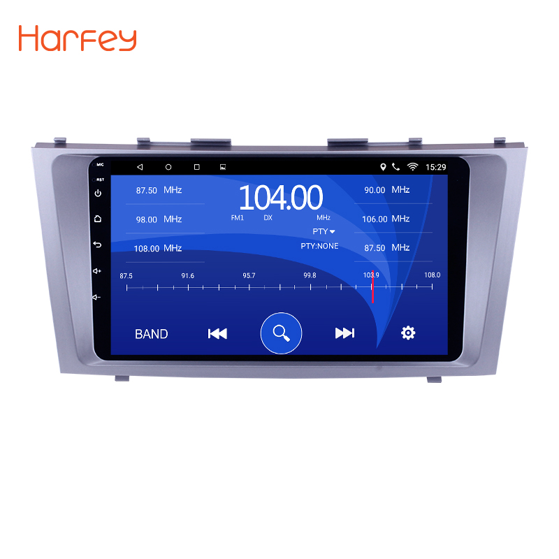 Harfey Android 6.0/7.1 9 Car Radio For TOYOTA CAMRY 2007 2008 2009 2010 2011 DVD Multimedia Player Head Unit Support 3G Wifi autoradio 2 din android 7 1 car dvd player for toyota camry 2007 2008 2009 2010 2011aurion 2006 head unit tape recorder wifi swc