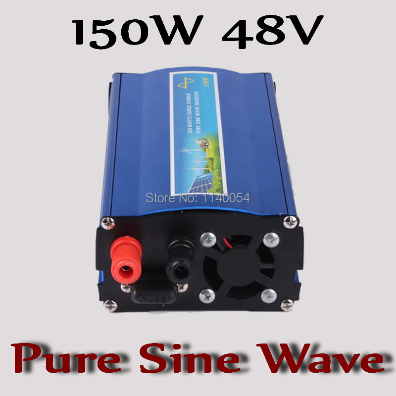 150W off grid inverter 48V,Solar Wind Power System Inverter 150W pure sine wave inverter 48VDC to AC100/110/120V or 220/230/240V цена