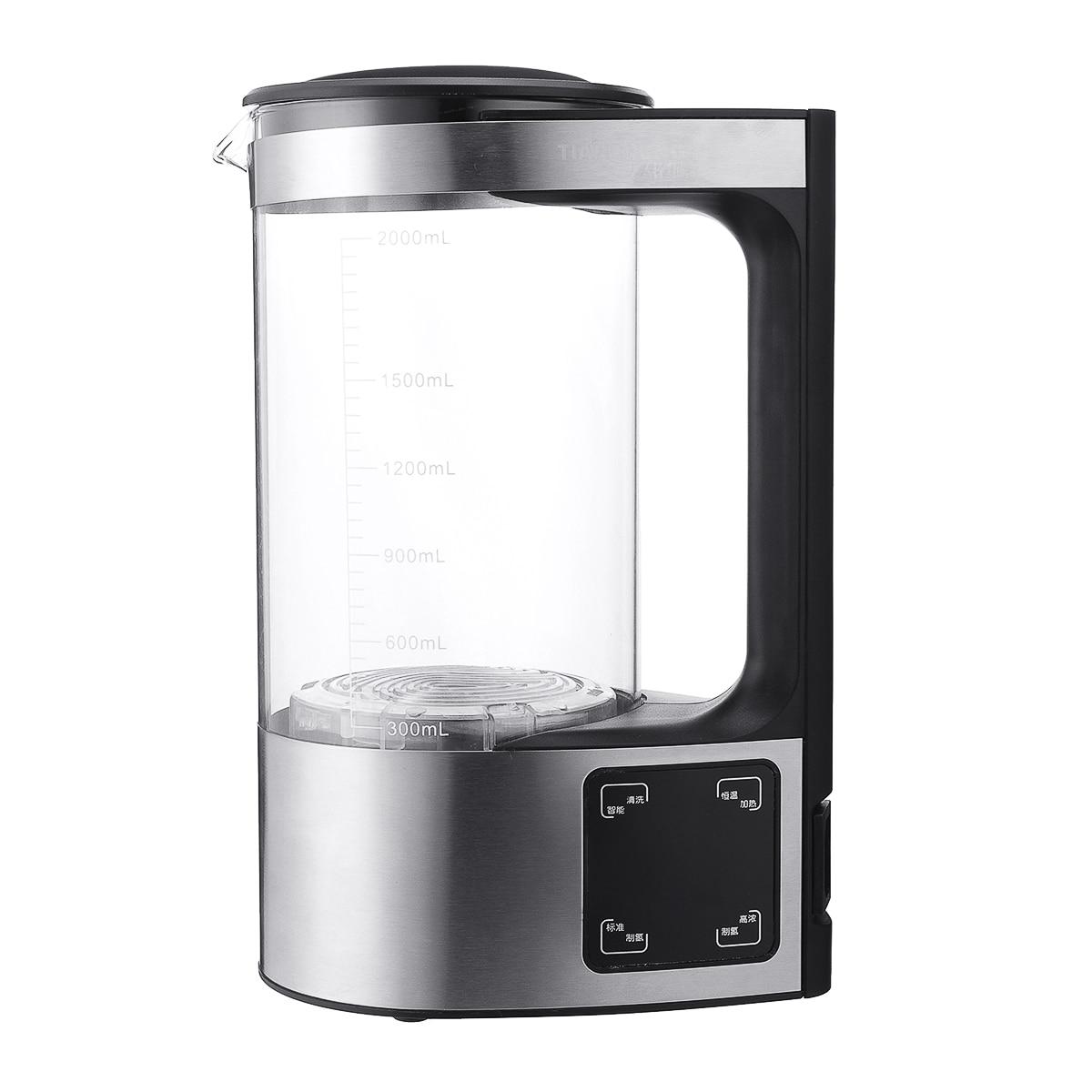 Электролитический 2л 350 Вт щелочной ионизатор воды генератор кувшин чайники кувшин генератор фильтр для очистки воды прибор