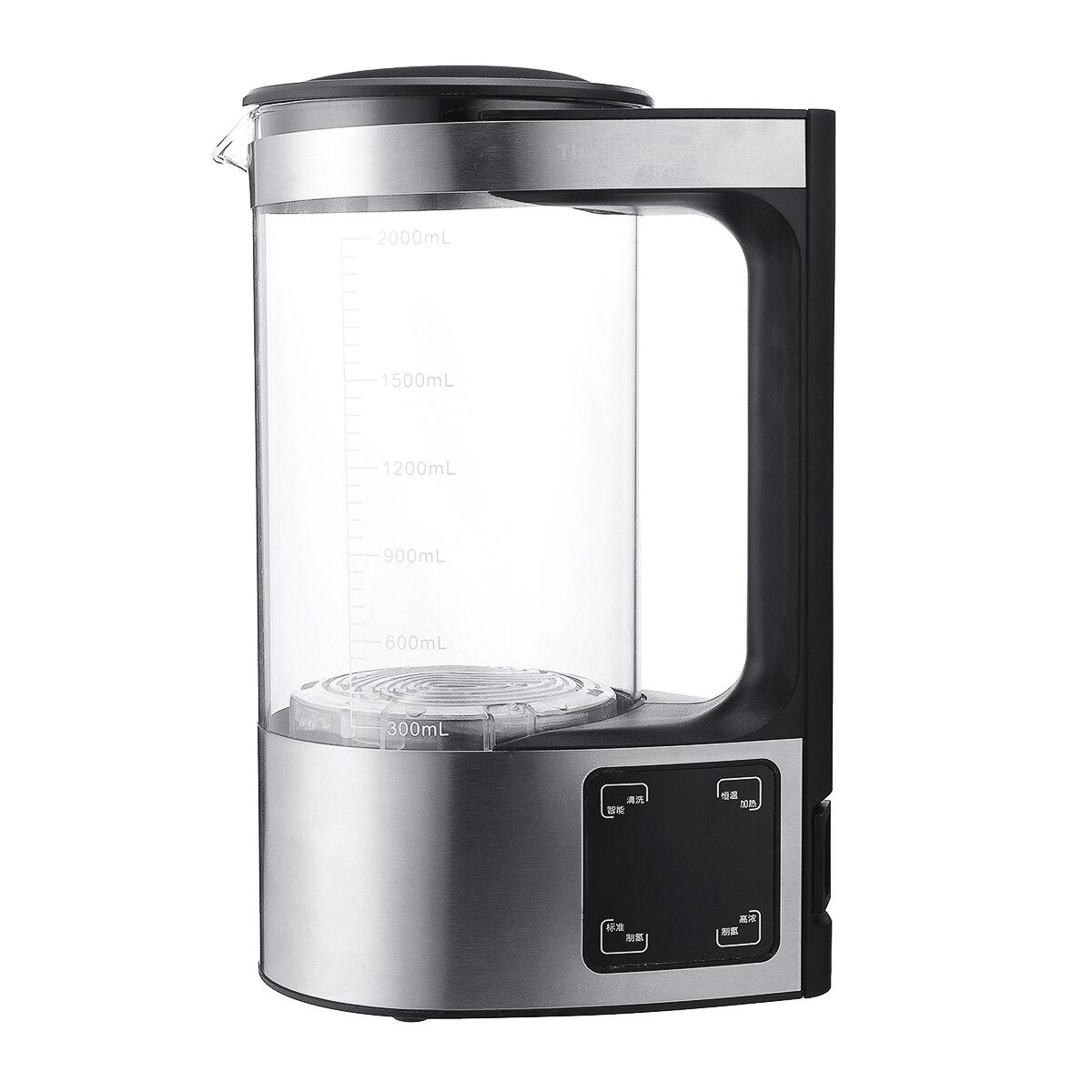 2l eletrolitico 350 w gerador de ionizador de agua rica alcalina jarro jarro jarro gerador filtro
