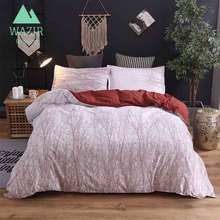 WAZIR Flowers and Grass Patterns Bedding Set Quilt Cover Pillow Case Bedroom Three Piece