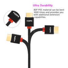 High Speed HDMI Cable with ARC Ethernet Newest Standard Supports 1080p 3D Audio Return,  Ultra HD 1m 2m 3m 5m 10m