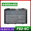 4400 mah bateria do portátil para asus a32-f82 a32-f52 a32 f82 f52 k40 k42 K42J K40IN K50 K50IJ K50AB k50IJ K50ID k50IN K51 K60 K61 K70