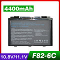 4400mAh Laptop Battery For Asus A32-F82 A32-F52 A32 F82 F52 K40 K42 K42J K40IN K50 K50IJ K50AB K50ID k50IJ k50IN K51 K60 K61 K70