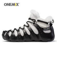 Onemix Winter Boots Men Multifunction Split And Combine Outdoor Trekking Shoes Walking For Man No Glue
