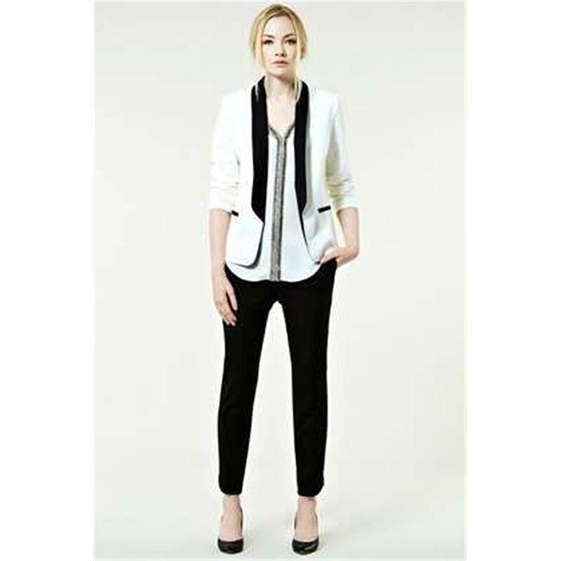 B107 Femmes Sur Et Costumes Châle Pantalon Veste D'affaires Uniforme Blanc burgundy Charcoal navy Mesure Bureau Noir 2 light Revers grey Grey khaki Pièce Blue YxPYZvq