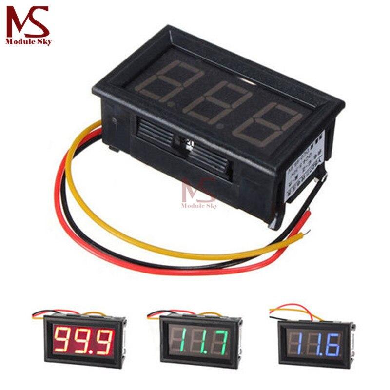 DC 0-100 V Motorspannung Fahrzeuge LED Dijital Voltmetre LED Panel MetreDC 0-100 V Motorspannung Fahrzeuge LED Dijital Voltmetre LED Panel Metre