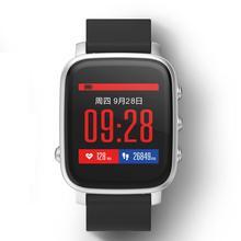 Фитнес трекер Водонепроницаемый Bluetooth smartwatches Алюминий сплав хост наручные Смарт часы для iOS и Android Reloj inteligente