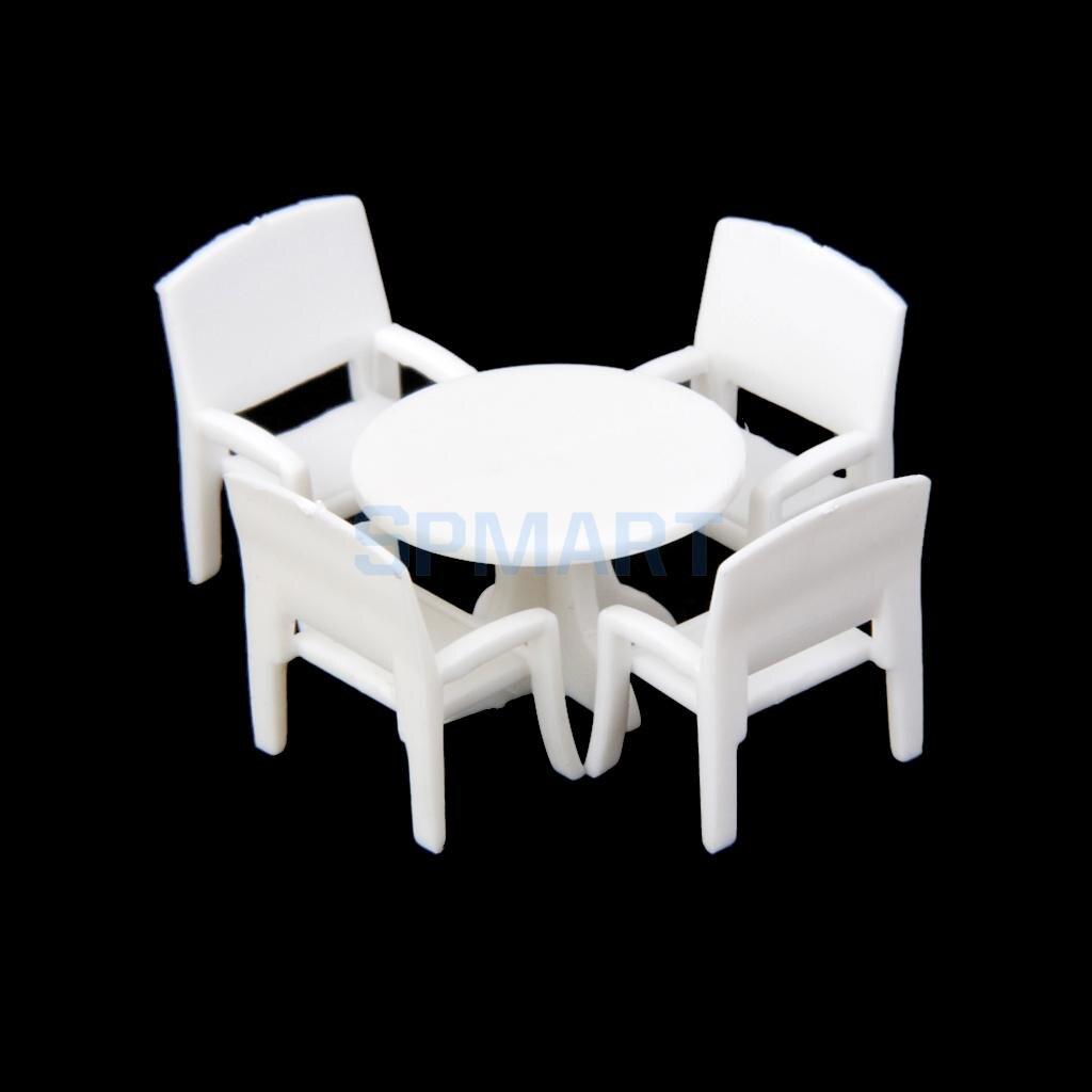 5 Pcs Model Set Putaran Meja Makan Dengan 4 Kursi 1100 Di Kit 1 Aeproduct