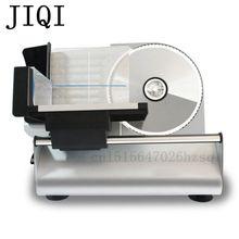 JIQI многофункциональная машина для нарезки ягненка бытовая электрическая маленькая коммерческая машина для нарезки замороженного мяса из нержавеющей стали