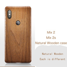 Natural Wooden phone case FOR Xiaomi MI MIX 2S 2 case cover black ice wood,Pomegranate wood,Walnut,Rosewood For MIX2S MIX2