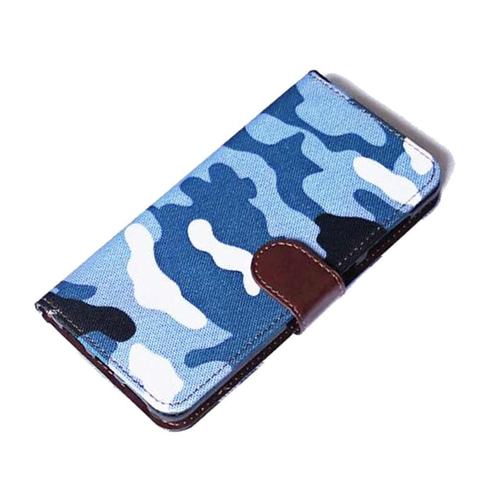 Funda abatible de cuero de PU para iPhone 5S 5 S SE funda trasera Retro funda con logotipo de moda funda para teléfono para iPhone 5 5SE de lujo
