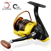 New 2017 German technology Fishing Reel 12BB 1000 -7000 spinning reel carpa molinete de pesca roda spinning wheel fishing reel