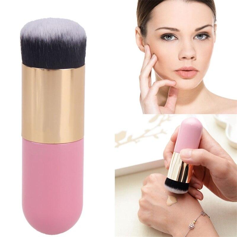 1pc Large Explosion Brush Cosmetic Foundation Power Portable Luqid BB CC Cream Blush Brush Beauty Blending Makeup Brush Tools
