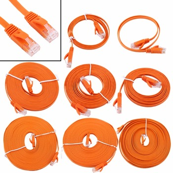 1000M Ethernet Cable High Speed RJ45 CAT6 Network Flat LAN Cable UTP Patch Router Cables 0.5/1/2/3/5/8/10/15m ethernet cable