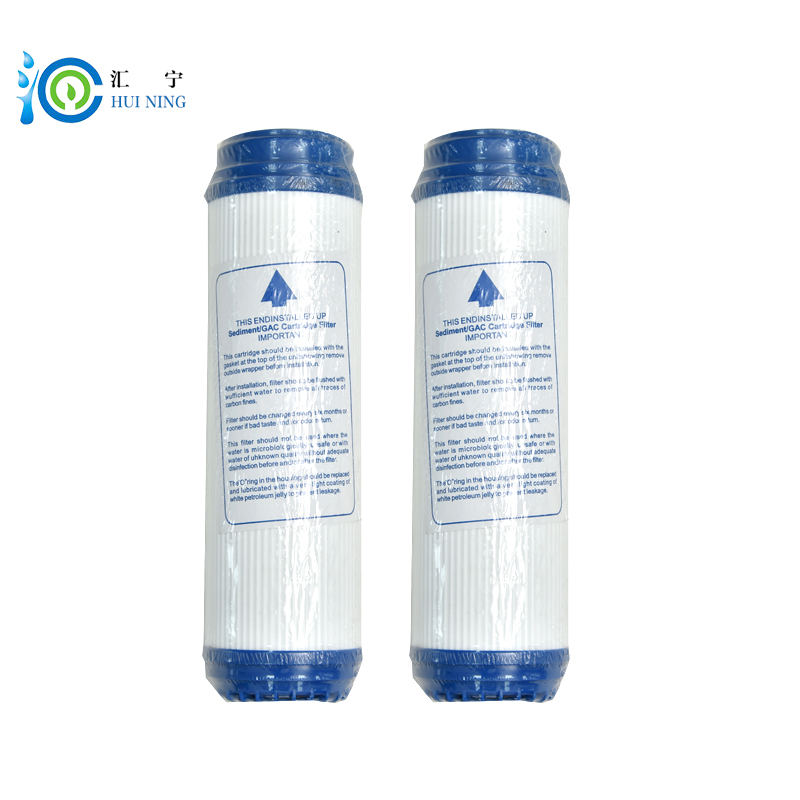 2pcs Water purifier 10inch granular udf activated coconut shell carbon Adsorption value 1100 Filter Cartridge Replacement meg schneider budget weddings for dummies