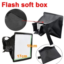 Flash diffuser - set-top light box, black cover, flash accessories, suitable for photographic photography.LF01-042