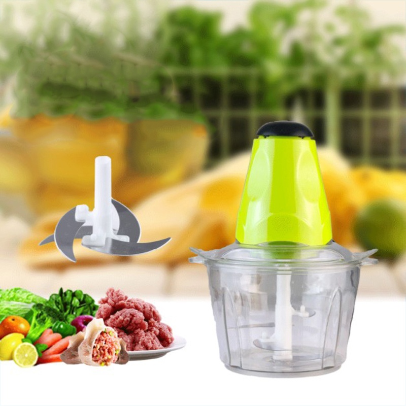 Electric meat grinder Electric chopper meat mincer mini chopper Electric kitchen shredder food processor redmond household 2l electric kitchen chopper shredder food chopper meat grinder stainless steel electric processor kitchen tool cocina