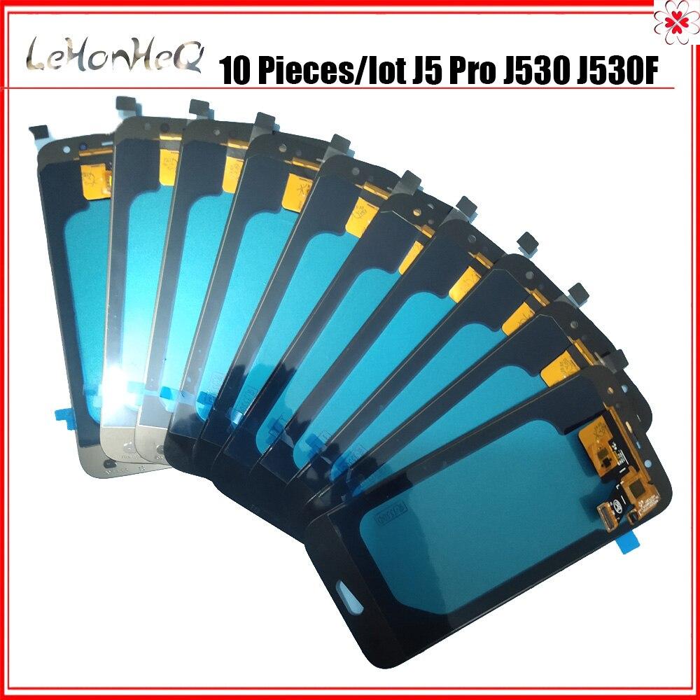 10 pièces/lot LCD pour samsung Galaxy J5 Pro 2017 J530 J530F LCD écran tactile numériseur assemblée pour samsung J530 LCD