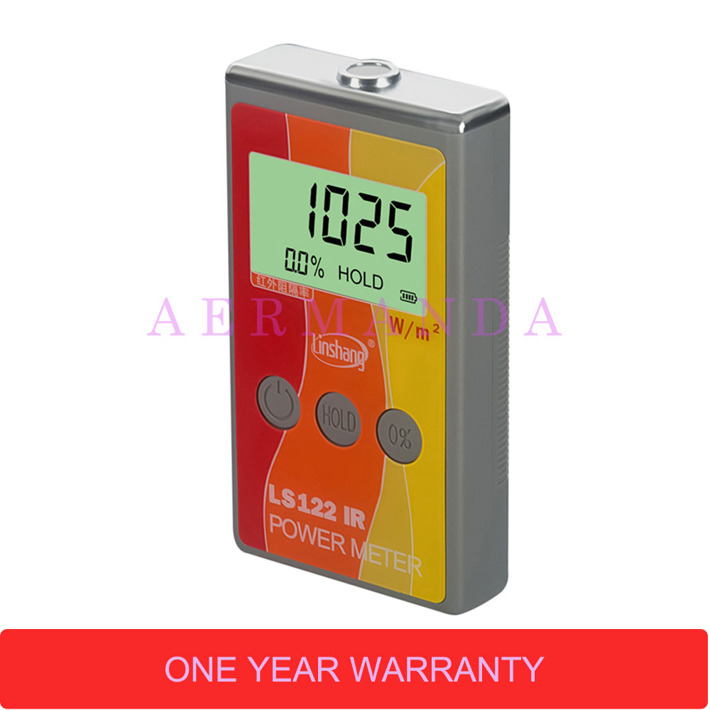 IR power meter LS122 solar power meter infrared radiation luminance infrared transmittance measurement in Spectrometers from Tools