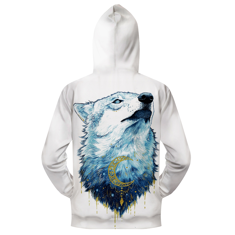 353ee103 Goldenwolf By Scandy Girl Arts 3D Print Hoodies Men Women Sweatshirt Brand  Tracksuit Pullover Jacket Autumn HoodedCoat Zipper 2-in Hoodies & ...
