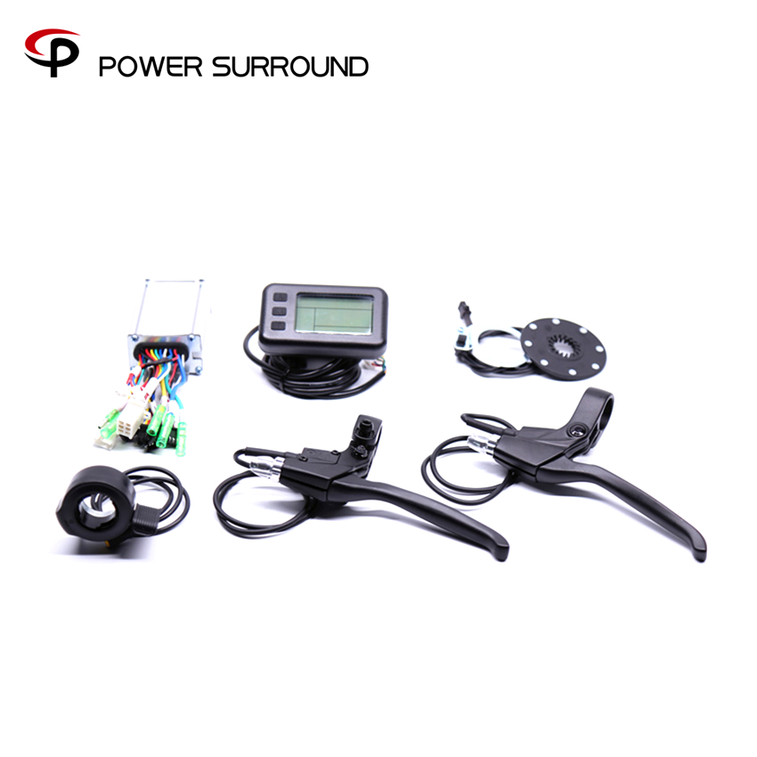 2018 Hot Sale Electric Bike Conversion Kit System For 36v250w/350w Hub Motorebike Sets waterproof electric bike conversion kit system for 36v250w 350w hub motor kit