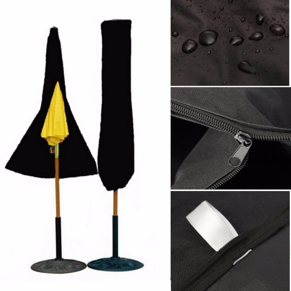 Garden Patio Umbrella Rain Cover Waterproof Polyester