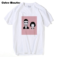 Summer Classic French Movie Leon The Professional T Shirt Men Women LEON Matilda Tee I want love or death Short Sleeve Top Cloth