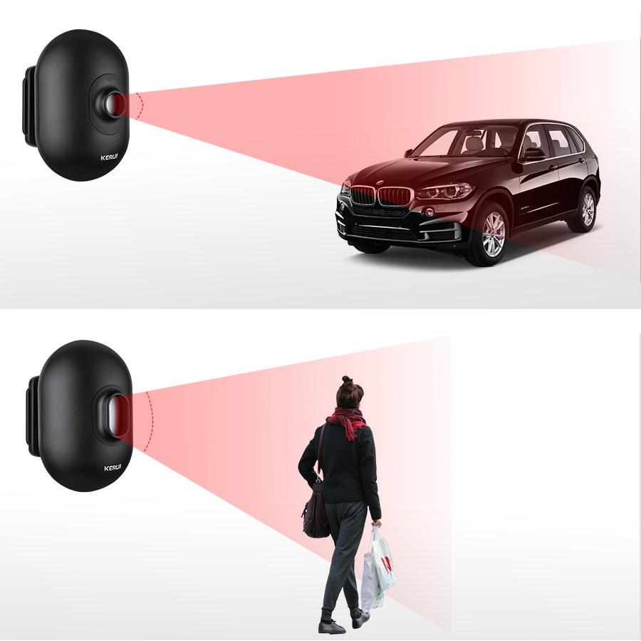Z-wave Door Window Sensor Detect Door Status Intrusion Detection Device Q7
