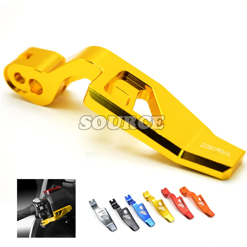 6 Colors High Quality Motorcycle CNC Aluminum Parking Brake Lever for Yamaha TMAX 500 2008-2011 T-MAX 530 TMAX 530 2012-2016