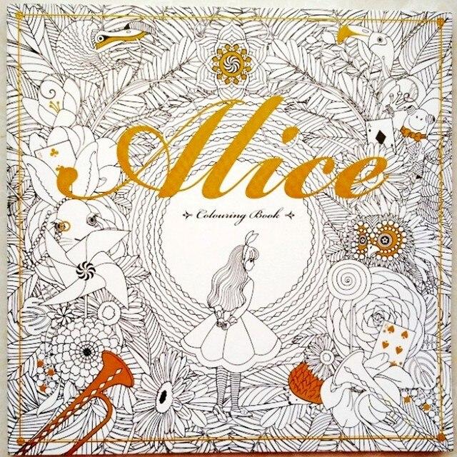 Perfecto Alice In Wonderland Para Colorear Libro Componente - Ideas ...
