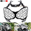 For KAWASAKI Z900 Z 900 2017 Motorcycle Accessories Headlight Grille Guard Cover Black