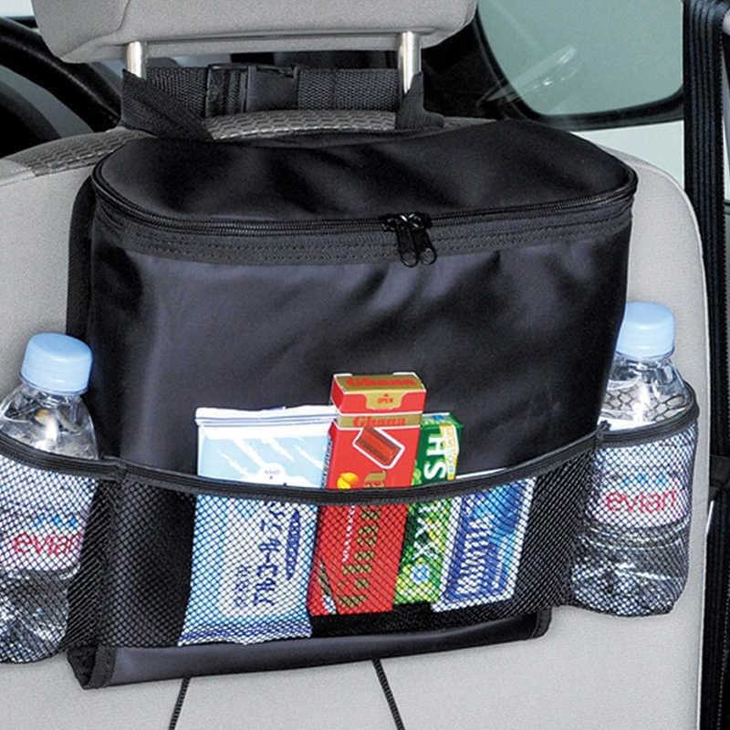 التسوق عربة يغطي المقعد الخلفي حقيبة التخزين متعدد جيب العالمي طويل الأمد العزل شنقا حامل الحقيبة اكسسوارات السيارات