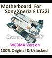 100% original motherboard trabalhando para sony xperia p lt22i desbloqueado motherboard placa lógica mainboard peças de reposição