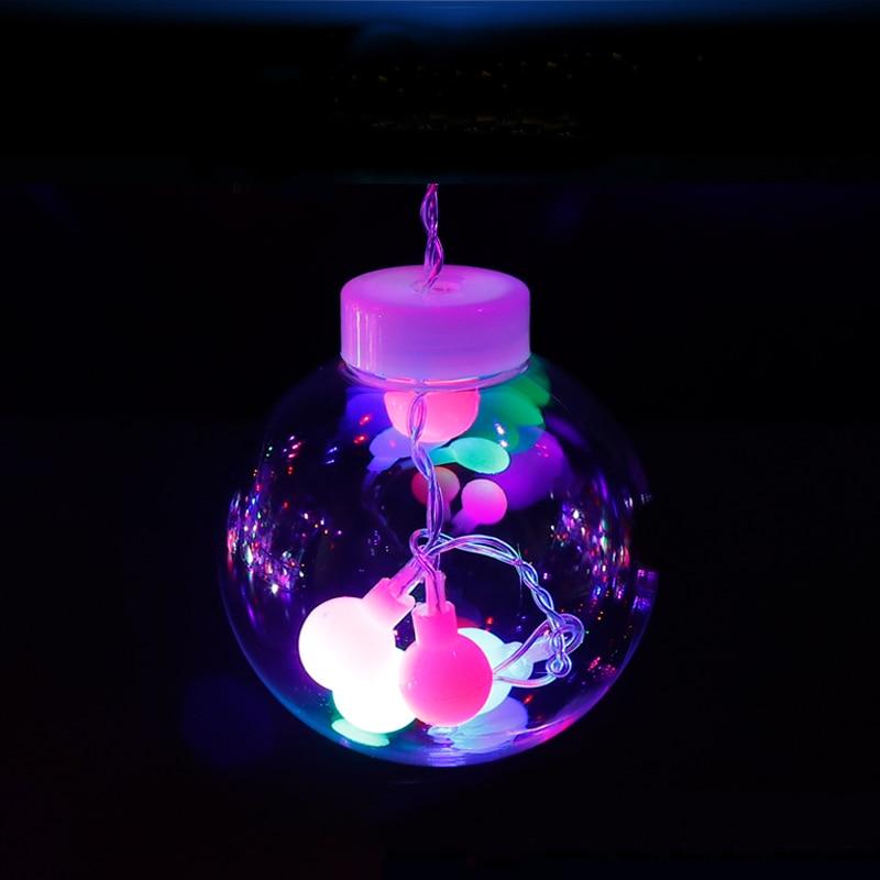 Led cortina icicle bola de hadas cadena deseando luces fiesta fiesta - Iluminación de vacaciones - foto 5
