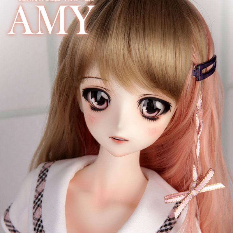 OUENEIFS bjd / sd Dolls LUTS Senior Delf Amy 1/3 body model girls boys eyes High Quality toys shop resin Free eyes