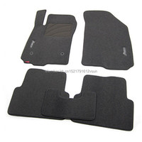 smRKE For Chevrolet Aveo Car Floor Mats Carpets Customized Antiskid Hydrophil Fiber Front & Rear Full Set LHD RHD