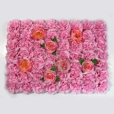 flor Artificial levantou-se com Dalia Festa cenário Prop 10 pçs lote