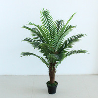 artificial plants tree 120cm potted plant anemone palm tree office decoration greenery artificial tree fake plants without pot