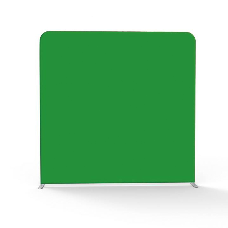 Écran vert/blanc/noir 7.5ft/8ft/10ft fond de taie d'oreiller droit avec support de cadre pour la photographie