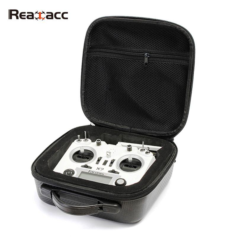 Realacc Handbag Backpack Carrying Bag Case with Sponge for Frsky Taranis X9D PLUS SE Q X7 Transmitter Remote Contol Controller рюкзак case logic 15 6 evolution plus backpack bpep 115k