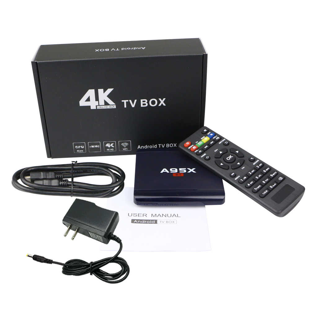 A95X R1 Android 7.1 TV Box avec arabe français italie allemand espagne néerlandais polonais belgique Tukey suède royaume-uni usa CA abonnement IPTV