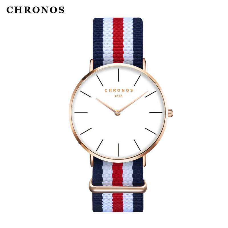 Orologio Uomo Men Women Watches CHRONOS Top Brand Luxury Quartz Watch Clock Relojes Mujer Montre Femme Horloge