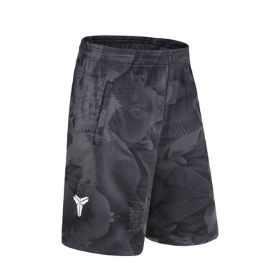 SYNSLOVEN design wave print training basketball running kobe bryant sport shorts loose half length plus size with double pocket