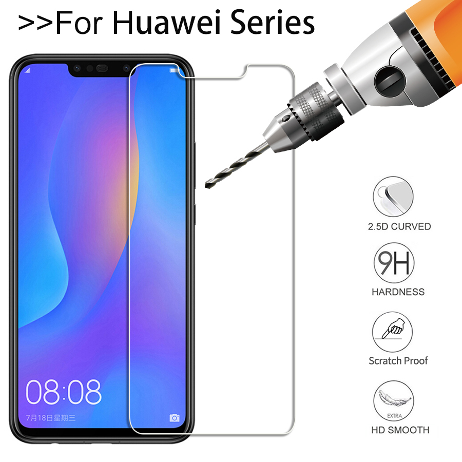 UVR-2-5D-9H-Tempered-Glass-for-Huawei-P-Smart-Plus-P20-Pro-Lite-Nova-3