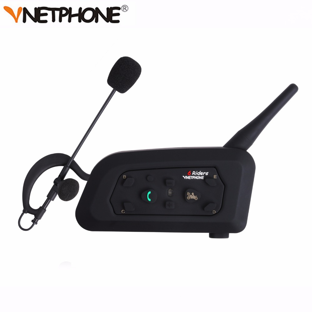 Vnetphone V6C New 1200M Football Referee Arbitration Earhook Bluetooth Intercom Monaural Earphone Headset Headphone Kit