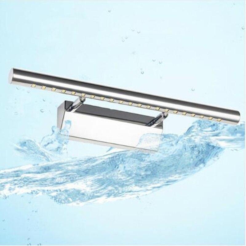 Современные Ванная комната зеркало свет светодиодный настенный светильник мини-Обновлено 3 Вт 5 Вт установлен домашние Освещение светильники для прохода светильник Lamparas