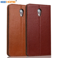 Case For Lenovo Vibe P2 KEZiHOME Genuine Leather Flip Stand Leather Cover For Lenovo Vibe P2